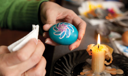 Painting on Eggs