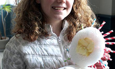 Westminster Girl Wins 2013 Egg-Drop Contest