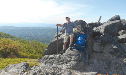Retirement Gift Launches Robbins Down The Appalachian Trail