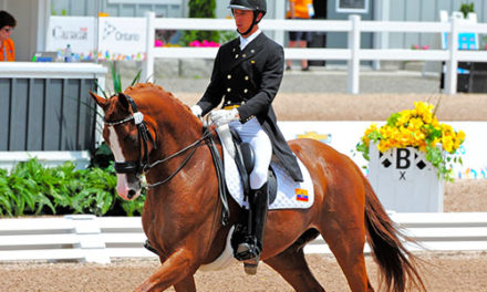 Local Rider Competes In Pan American Games in Canada With His Horse Chardonnay