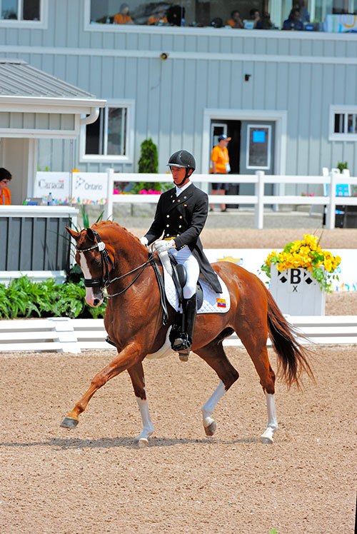 Local Rider Competes In Pan American Games In Canada With