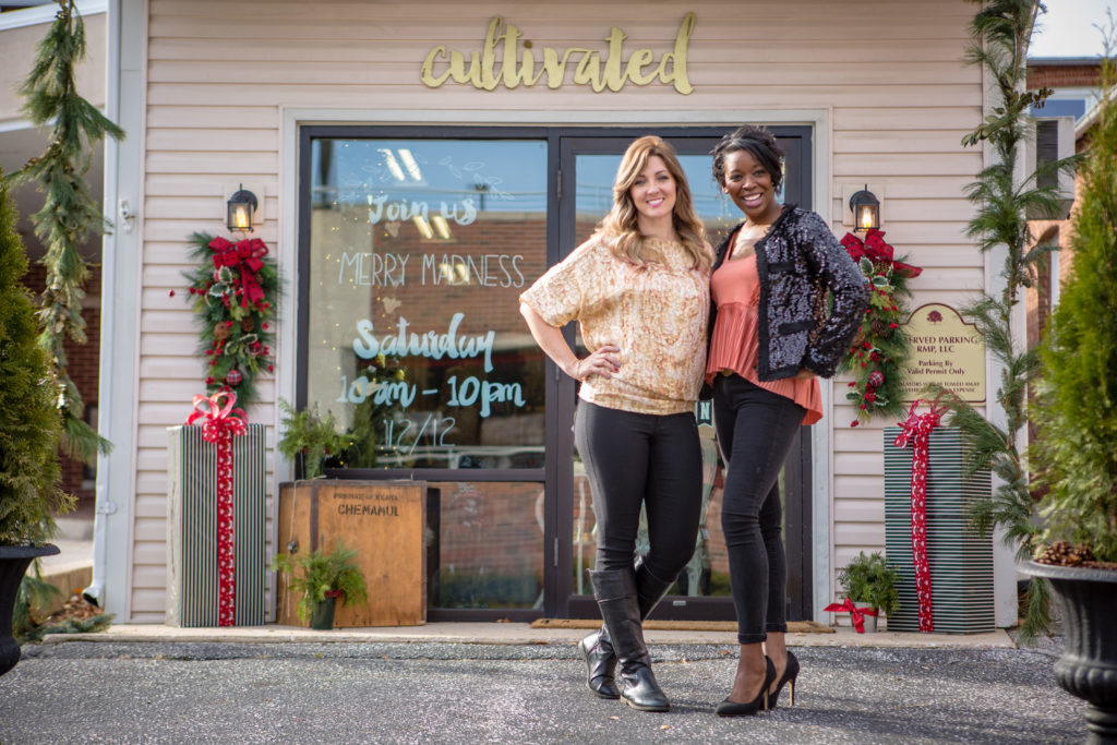 Kimberly Brooke Green and Tiombe Paige opened Cultivated in 2015.
