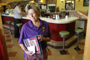 Joan Orem has been working at Baugher's Restaurant for 48 years.