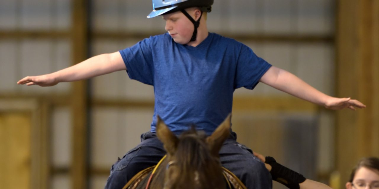 Equine Therapy Helps People Stand Tall