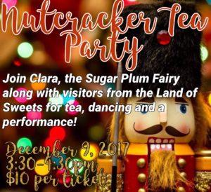 Nutcracker Tea Party @ Contempic School of Ballet        