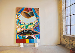 Flatlands: Paintings By Hannah Leighton @ Rice Gallery, Peterson Hall |  |  |