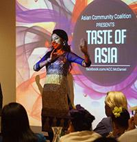 TASTE OF ASIA DINNER @ Decker Center Forum |  |  |