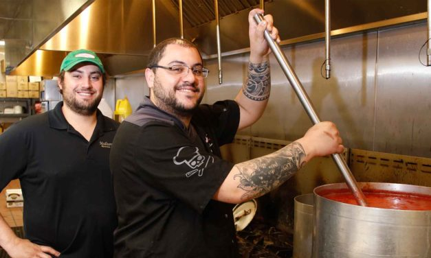 Local Flavors: Barbecue, Buffalo Chicken and Seafood Fettuccine