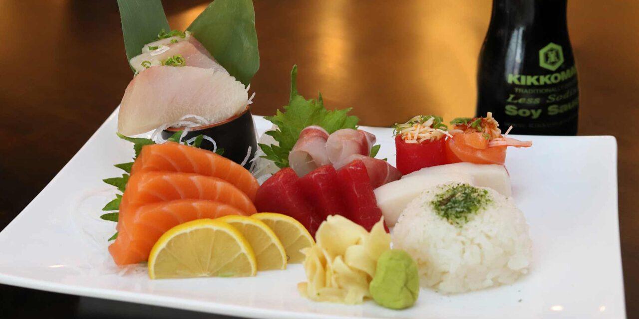 Sushi Q 5 Bar & Grill: Showcase for Sushi