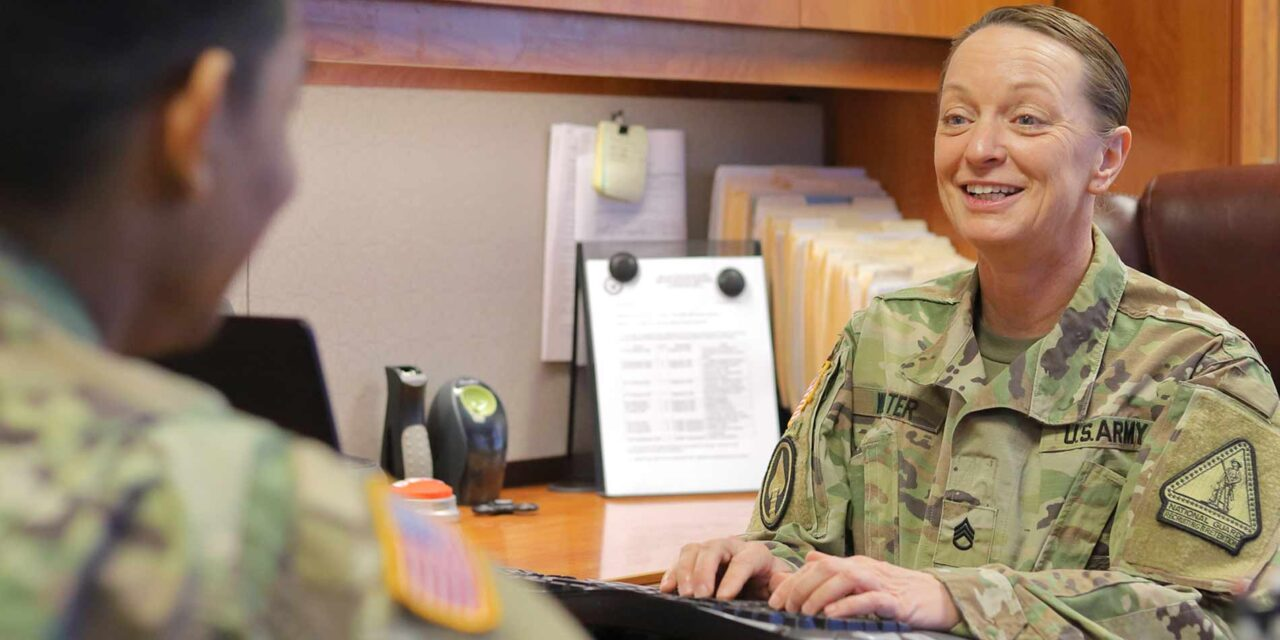 """Army Staff Sgt. Rachel Walter, Maryland Army National Guard: """"An Unparalleled Sense of Purpose"""""""